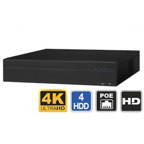 Network Recorder (NVR), 16 channel, 5 MP