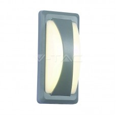 12W LED Bulkhead Softlight Natural White Grey Body IP65