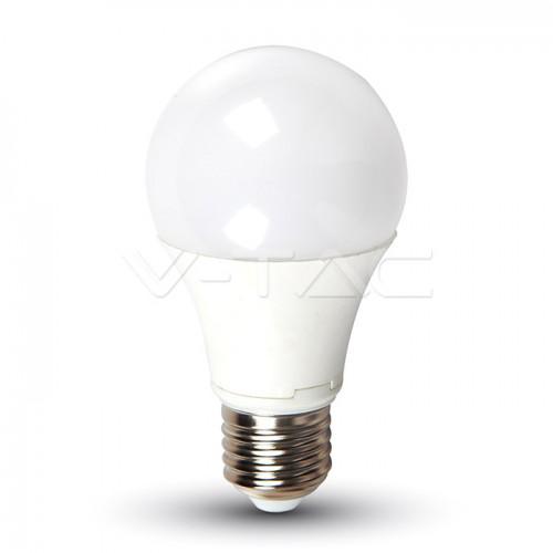 LED Bulb - 9W E27 A60 DC 24V 806LM Thermoplastic 4000K