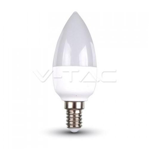LED Bulb - 5.5W  E14 Candle 6400K