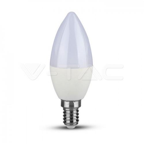LED Bulb - 5.5W  E14 Candle 4000K