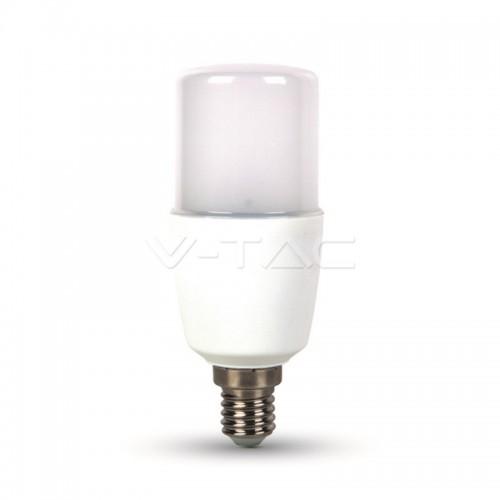 LED Bulb - SAMSUNG CHIP 8W  E14 T37 Plastic 3000K