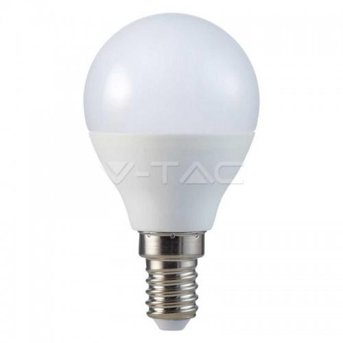 LED Bulb - SAMSUNG CHIP 4.5W E14 A++ P45 Plastic 4000K