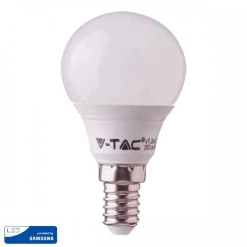 LED Bulb - SAMSUNG CHIP 7W E14 P45 Plastic 4000K