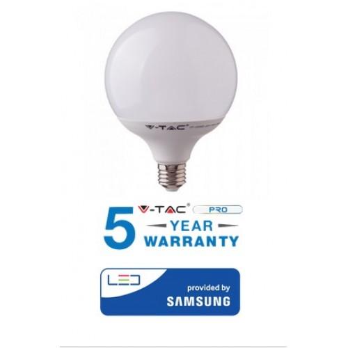 LED Bulb - SAMSUNG CHIP 18W E27 G120 Plastic 2000LM 3000K