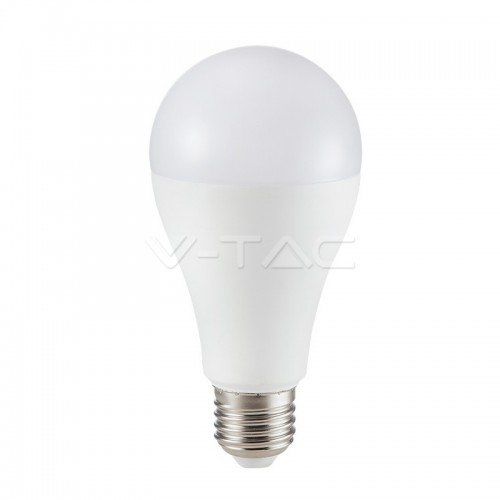 LED Bulb - SAMSUNG CHIP 15W E27 A65 Plastic 3000K
