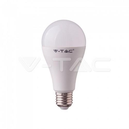 LED Bulb - 15W A65 E27 Plastic Bulb 4000K 160LM/W EVOLUTION