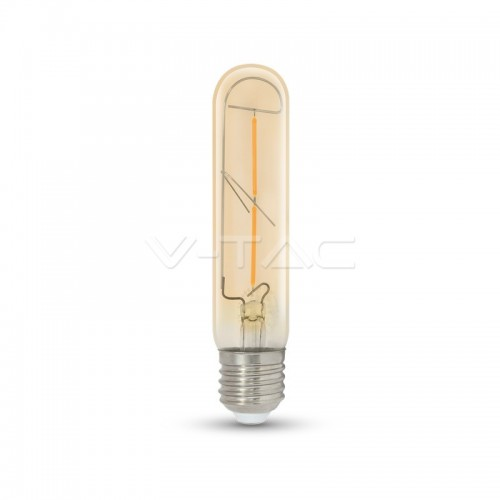 LED Bulb - 2W T30 E27 Filament Amber 2200K