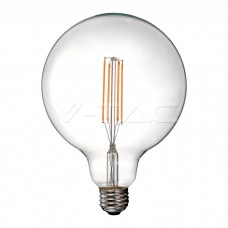LED Bulb - 12.5W Filament E27 G125 Clear Cover 6500K