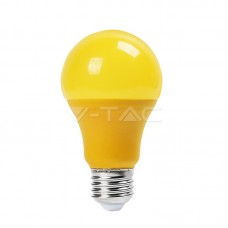 LED Bulb - 9W E27 Yellow Color Plastic