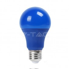 LED Bulb - 9W E27 Blue Color Plastic
