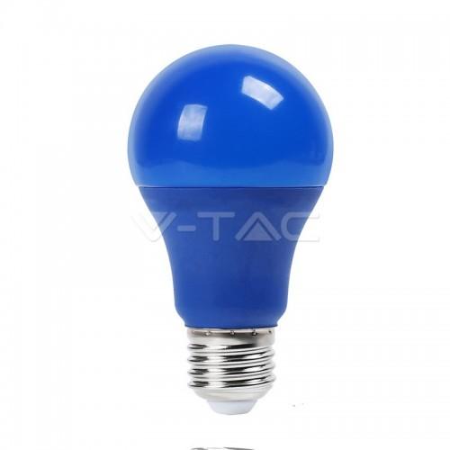 LED Bulb - 9W E27 Blue Color Plastic