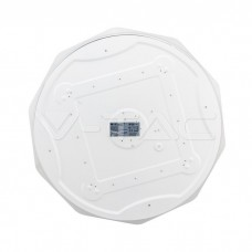 60W LED Domelight With Remote Control Color Changing Diamond Round Cover