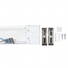 40W LED Grill Fitting SAMSUNG CHIP 120cm 120LM/WATT 3000K