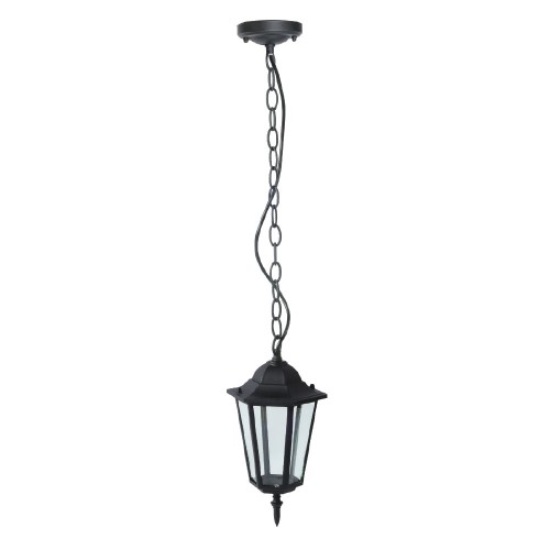 Ceiling Garden Lamp Matt Black