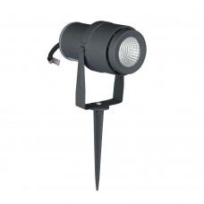 12W LED Garden Spike Lamp Grey Body Green