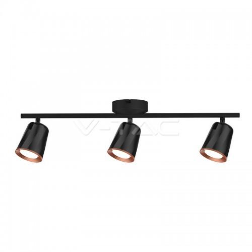18W Led Wall Lamp Triple Head 3000K Black