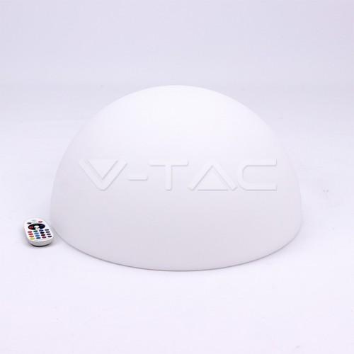LED Half Round Ball RGB D50*26CM