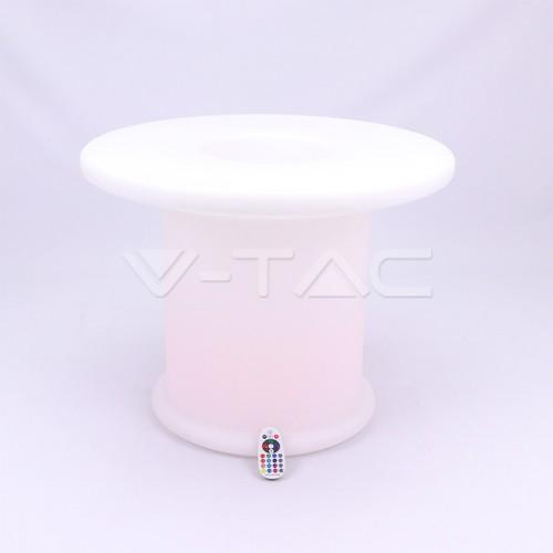 LED Coffee Table RGB D72*72*56CM