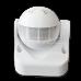 Infrared Motion Sensor Wall White