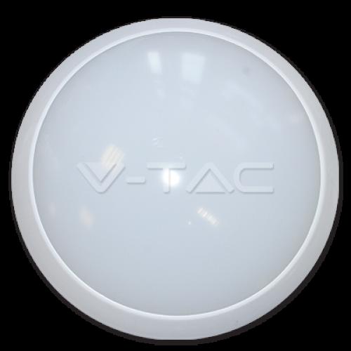 12W LED Full Round Ceiling Lamp With Sensor 6000K Body IP66 6000K