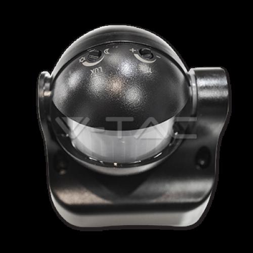 Infrared Motion Sensor Wall Black