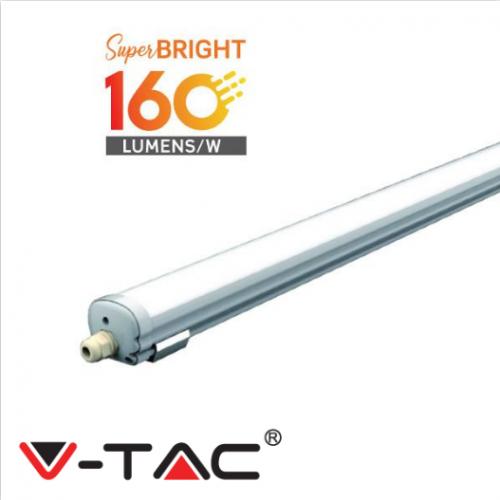LED Waterproof Fitting X-SERIES 1200mm 24W 6400K 160LM/W