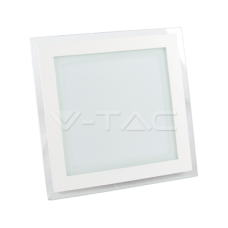 18W LED Panel Downlight Glass - Square 6400K
