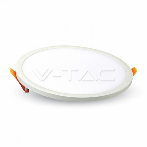 15W LED Panel Trimless Round Natural White