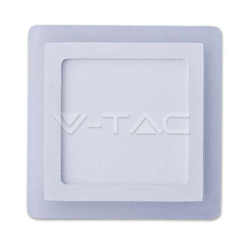 15W LED Panel Surface Twin Square Natural White