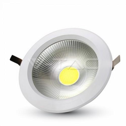 30W LED COB Downlight In 20W Body 3000K
