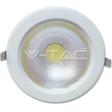 40W LED COB Downlight - 6000K