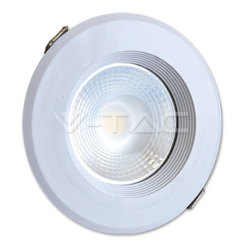20W LED COB Downlight In 10W Body 6000K