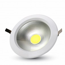 20W LED COB Downlight Round A++ 120Lm/W 4000K