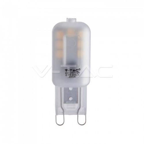 LED Spotlight SAMSUNG CHIP - G9 2.5W Plastic 3000K