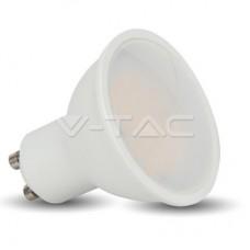 LED Spotlight - 5W GU10 SMD White Plastic 320Lm 2700K 110°