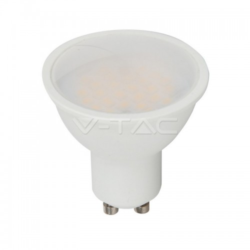 LED Spotlight SAMSUNG CHIP - GU10 5W Smooth Plastic 110°D 3000K