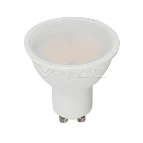 LED Spotlight SAMSUNG CHIP - GU10 10W Milky Cover Plastic 6400K