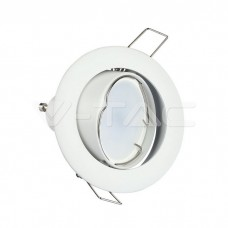 GU10/GU5.3(MR16) Fitting Round Movable White