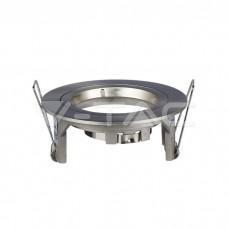 GU10/GU5.3(MR16) Fitting Round Satin Nickel
