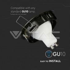 GU10/GU5.3(MR16) Fitting Round Movable Gold