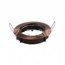 GU10/GU5.3(MR16) Fitting Round Movable Bronze
