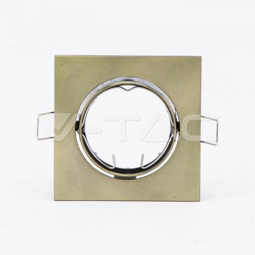 GU10/GU5.3(MR16) Fitting Square Movable Gold