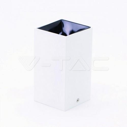 GU10/GU5.3(MR16) Fitting Square White + Black