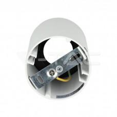GU10/GU5.3(MR16) Fitting Round White + Black