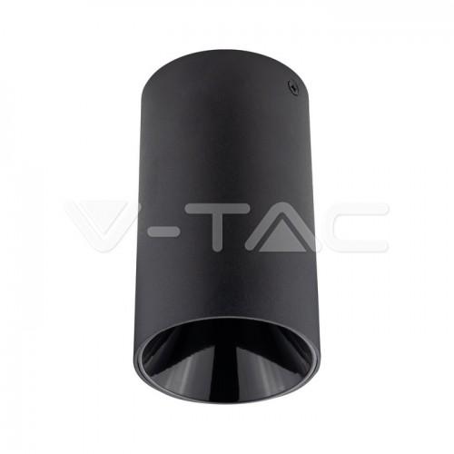GU10/GU5.3(MR16) Fitting Round Black + Black