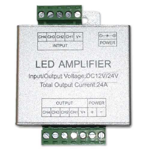 RGB+W Amplifier /For LED Strip 2159;2553;2552/