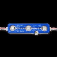 LED Module 3SMD Chips SMD5050 Blue IP67