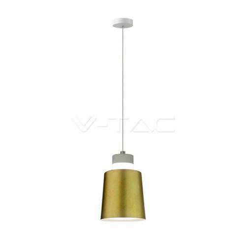 7W LED Pendant Light Gold Ø120 Natural White
