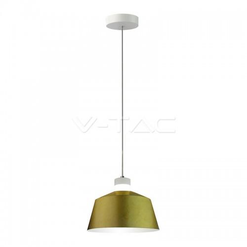 7W LED Pendant Light Gold Ø250 Natural White